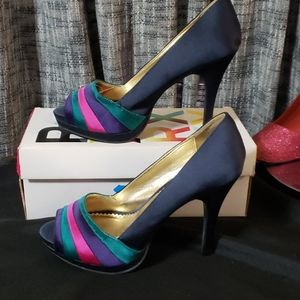 🆕️ Rampage stiletto heels with satin look